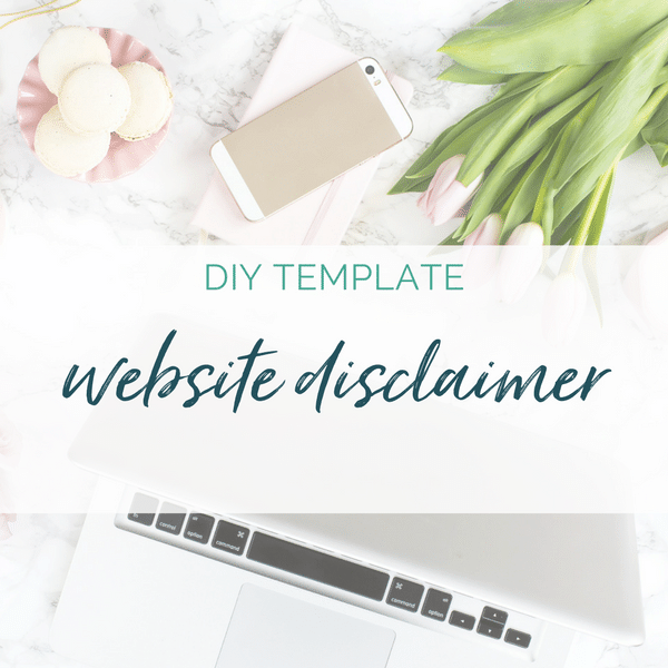 website disclaimer template health coaches coaches online entrepreneurs sam vander wielen diy legal templates