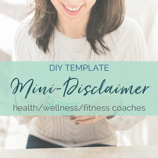 health coach disclaimer template fitness coach medical disclaimer template health coach disclaimer template diy legal templates sam vander wielen