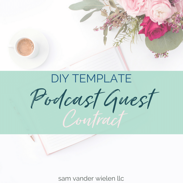 podcast host agreement template