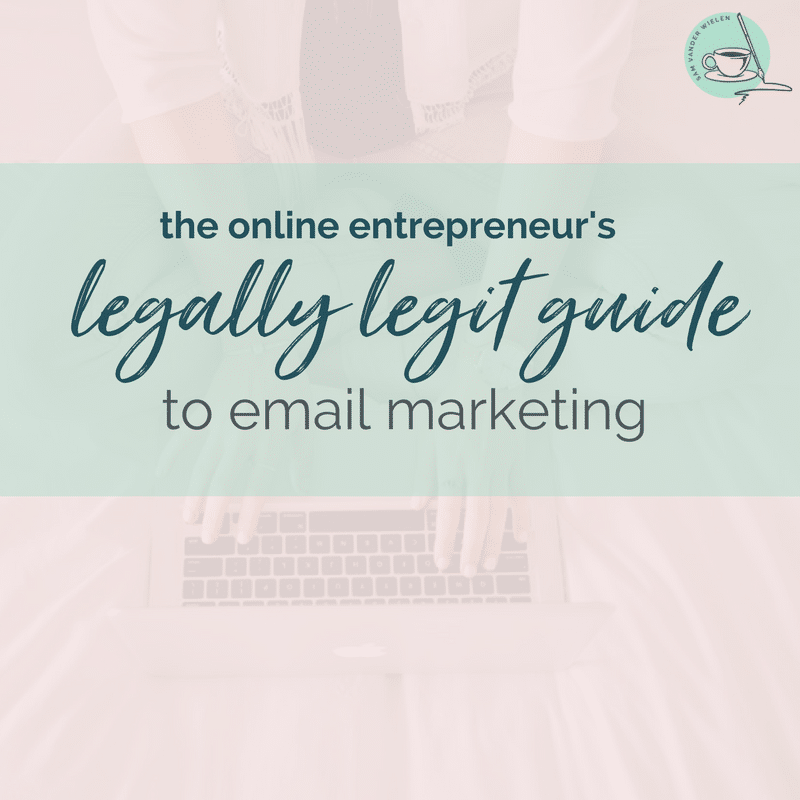 email marketing and the law