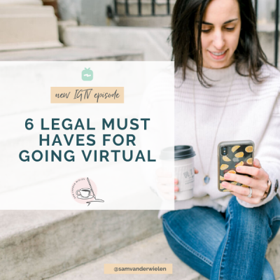 6 Legal Must Haves for Going Virtual