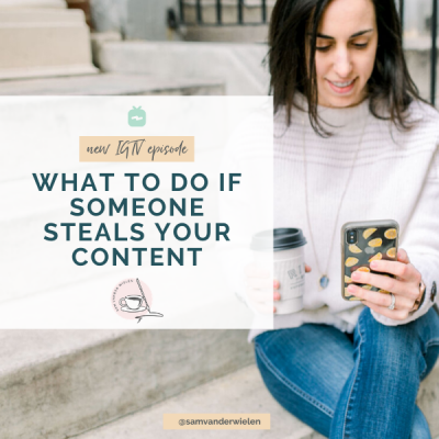 What To Do if Someone Steals Your Content