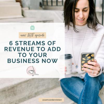 streams of revenue
