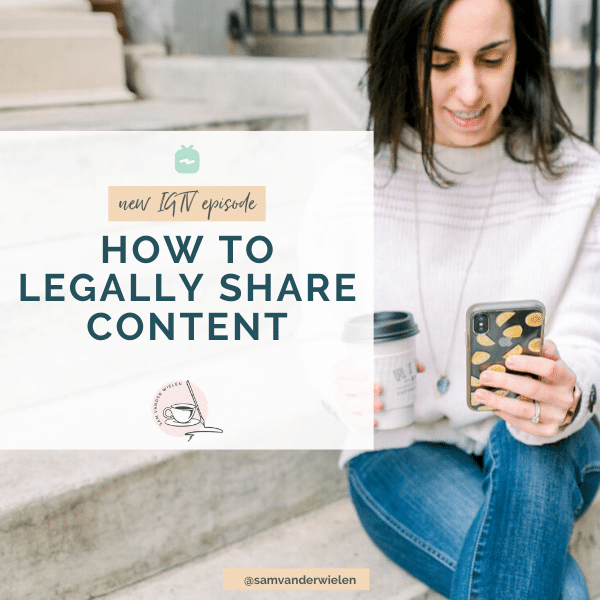 how to legally share content