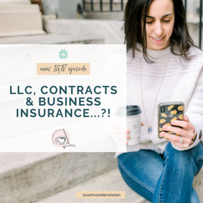 LLCs, Contracts & Business Insurance: do you need all 3?