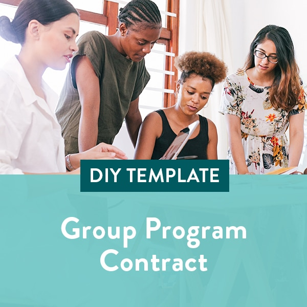 Group-Program-Contract-Template