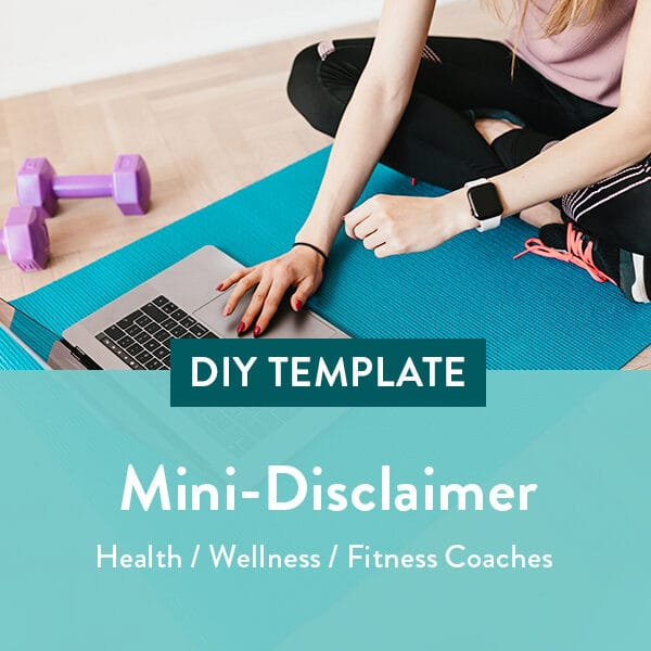 Health-Wellness-Coach-Mini-Disclaimer-Template