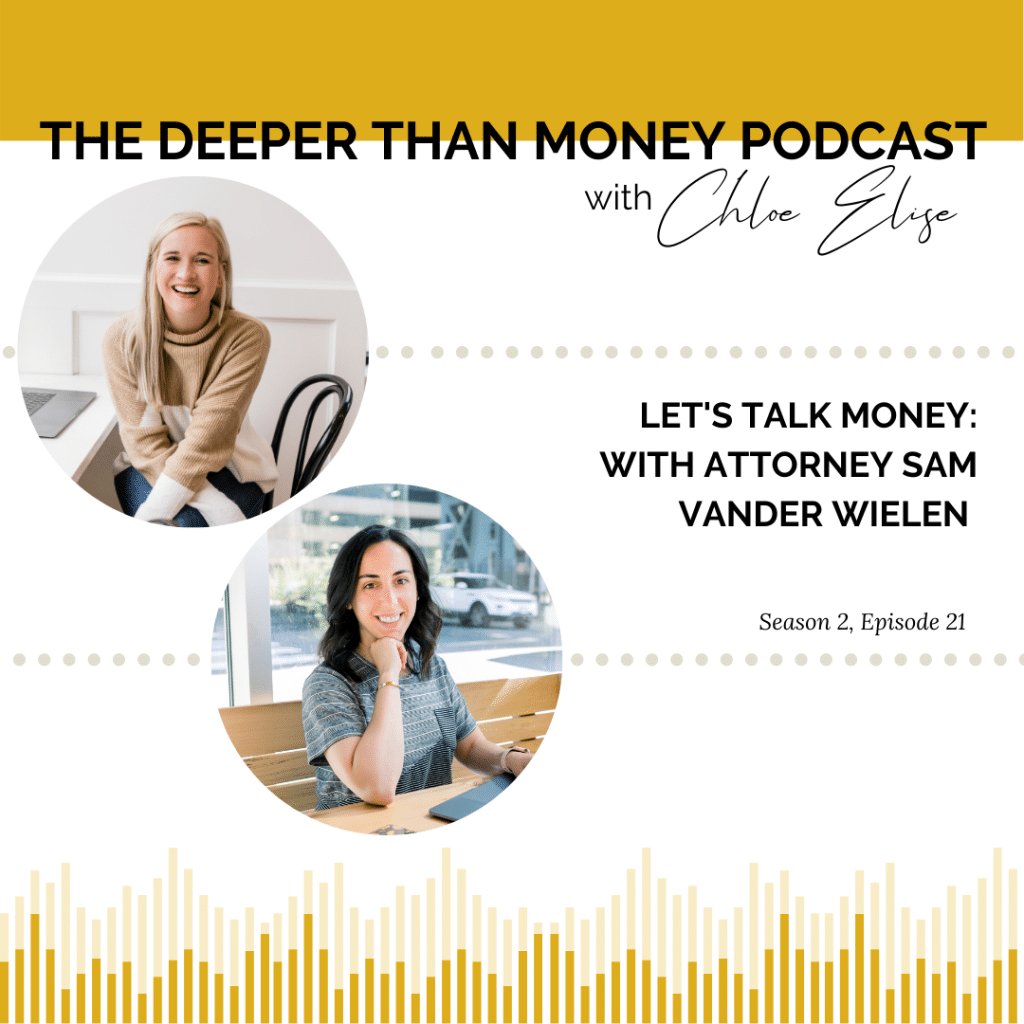Deeper Than Money Podcast