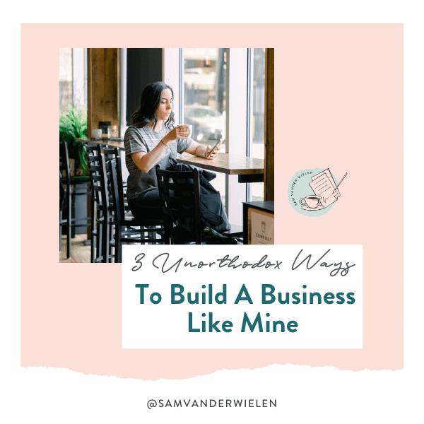 3 Unorthodox Ways To Build A Business Like Mine, Sam Vander Wielen, Legal Templates