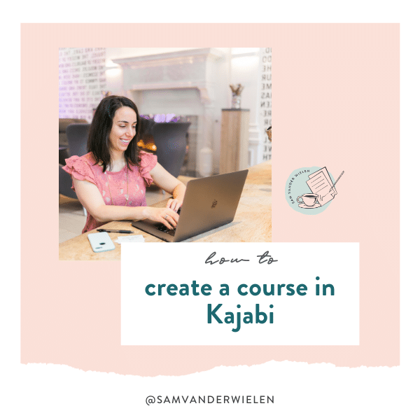 How to Create a Course in Kajabi - Sam Vander Wielen, legal templates